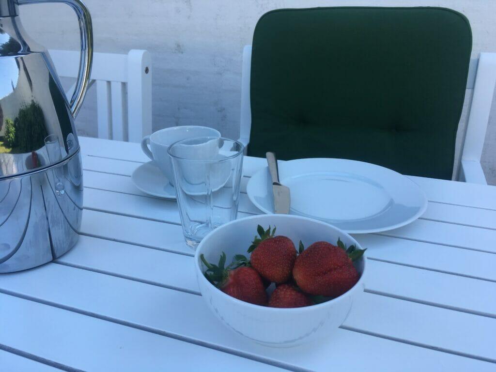 jordbær nye friske