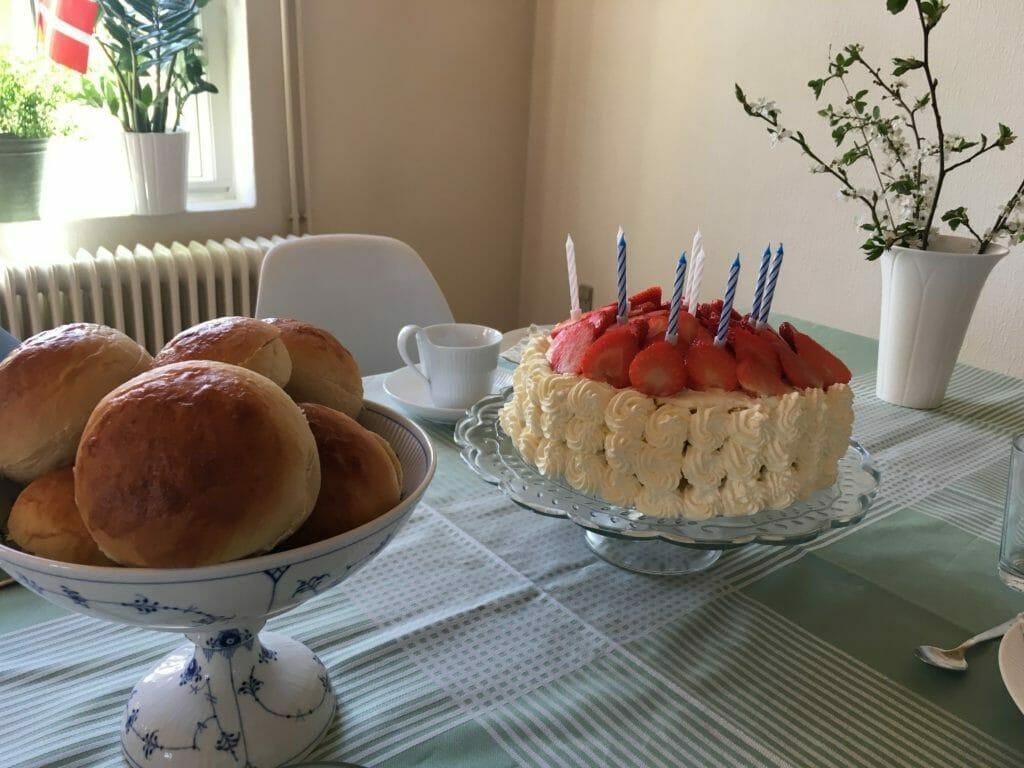lagkage boller fødselsdag