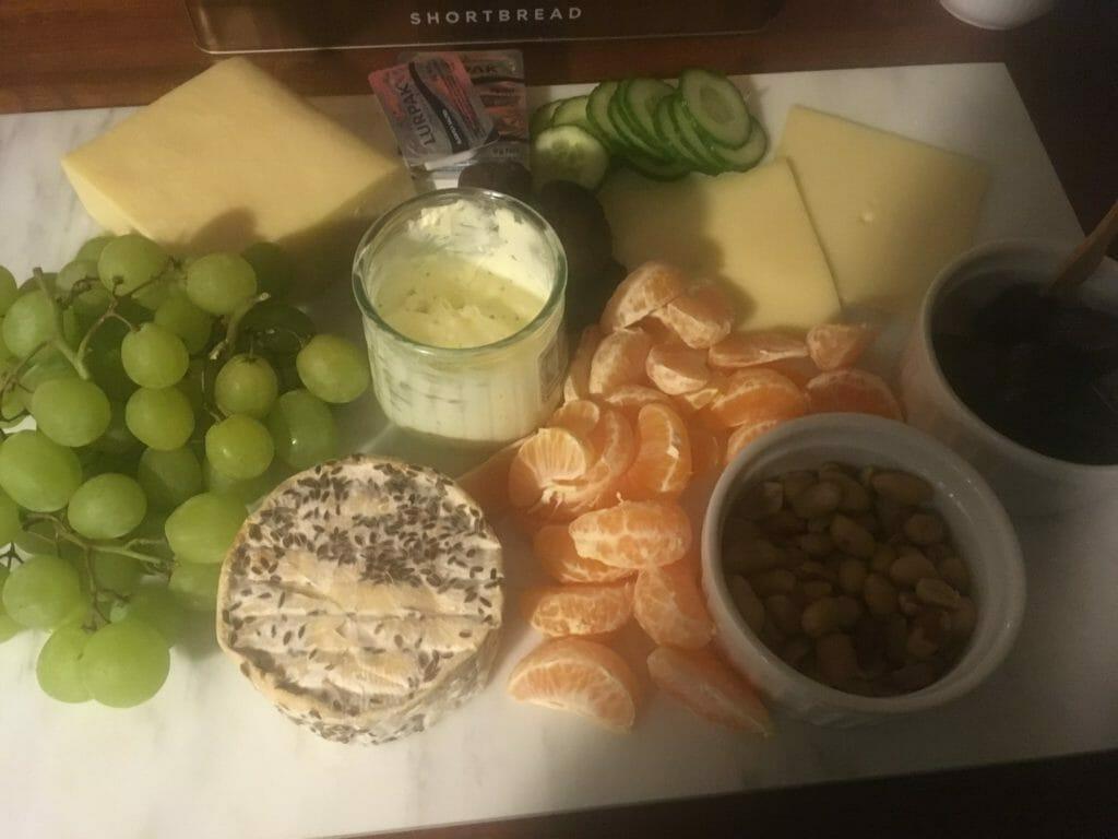 Ostebord ost ostetallerken nytårstorsk