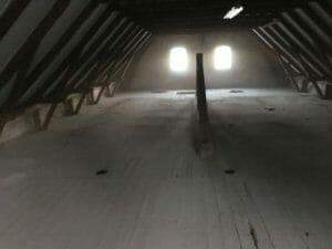 rengøring støv skidt loft
