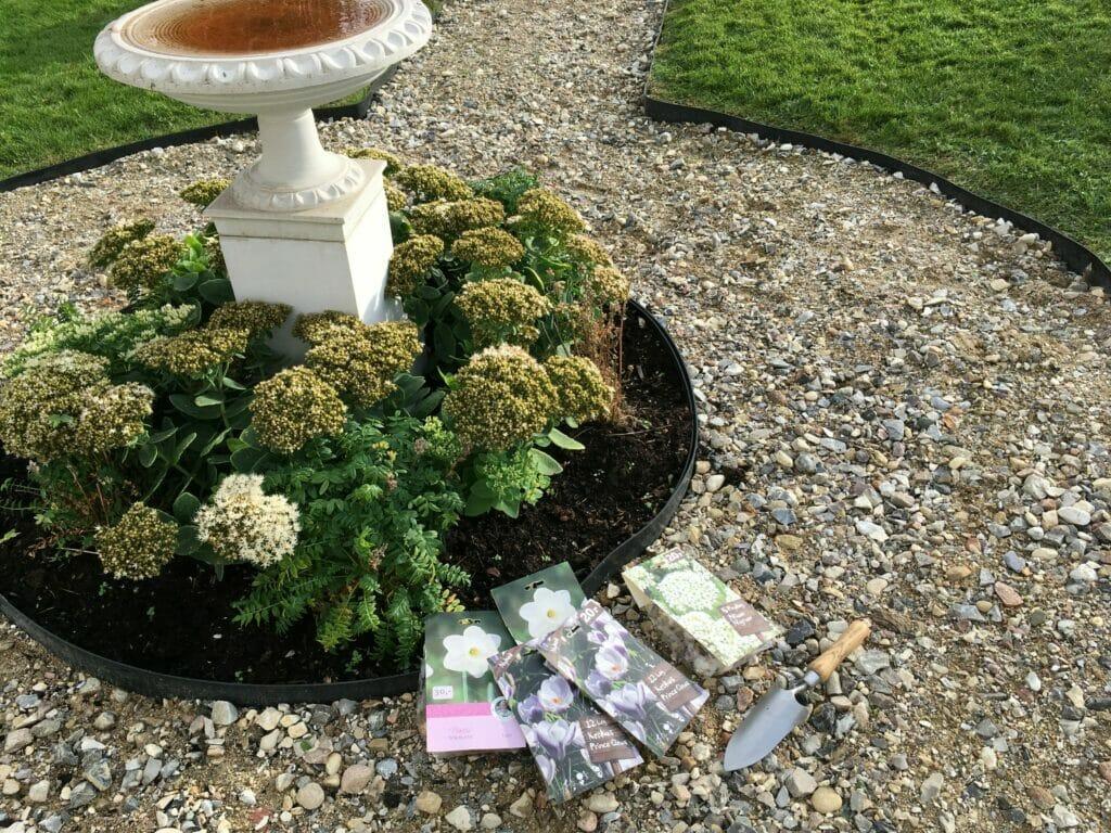 Blomsterhave er vist det rigtige ord for vores have på Nymølle