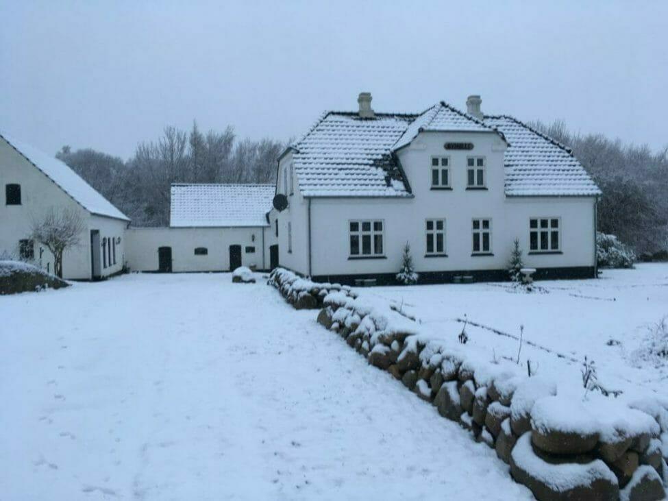 hvid jul gård nymølle have