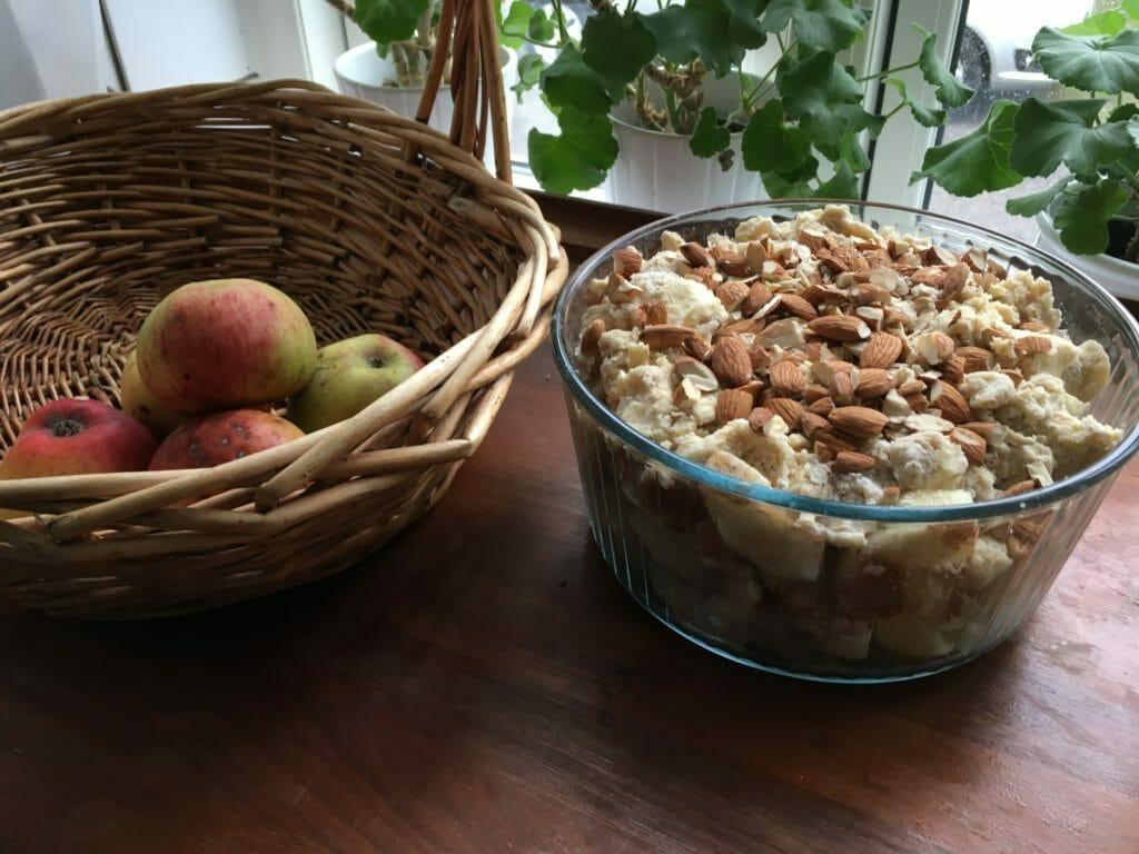 æblekage bagt æbler kage