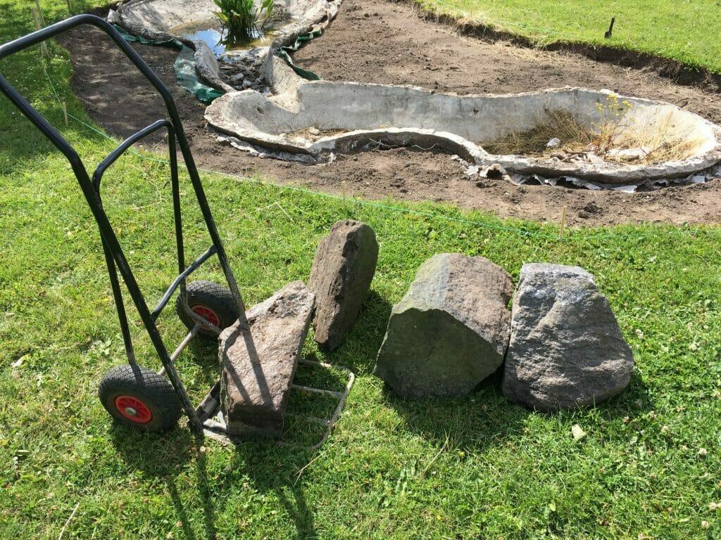 sten i haven granit norskgratin sortesten