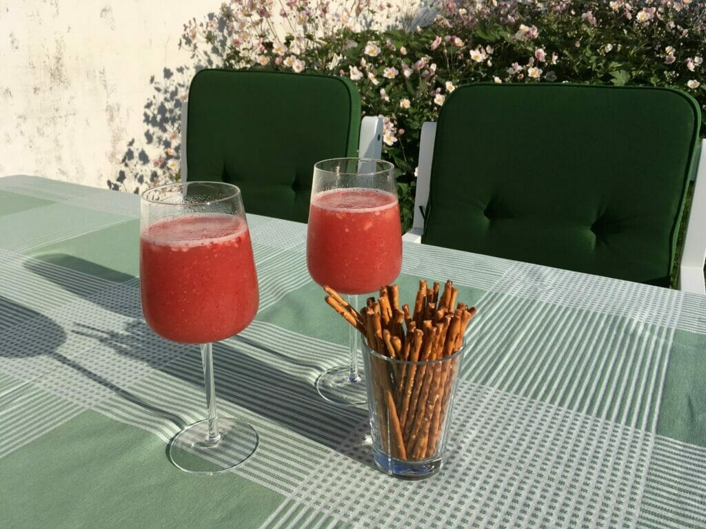 sommerdrink sommerdrinks frosse frozen rose