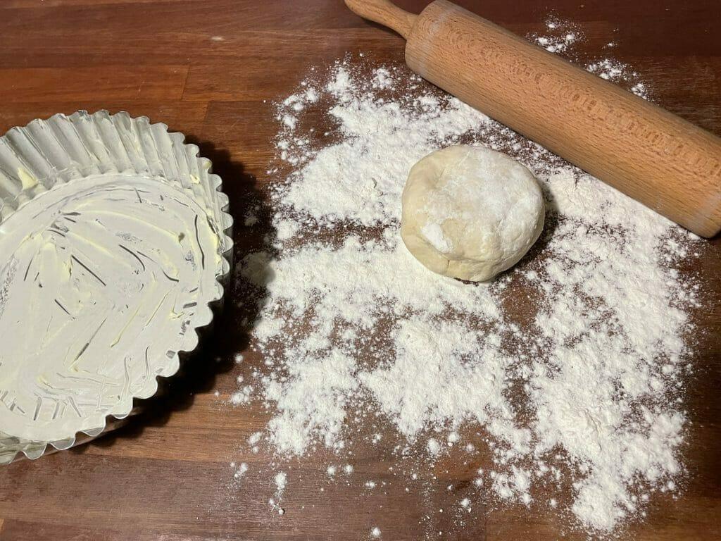 bagning udrulning tærtedej tærte