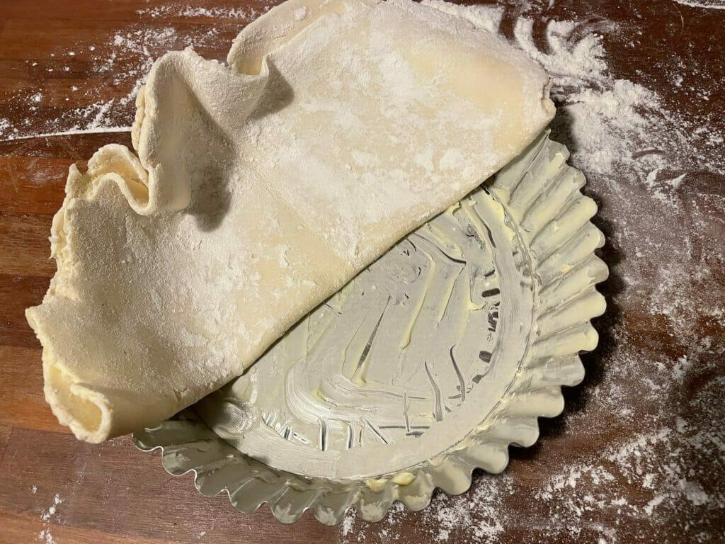 bagning udrulning tærtedej