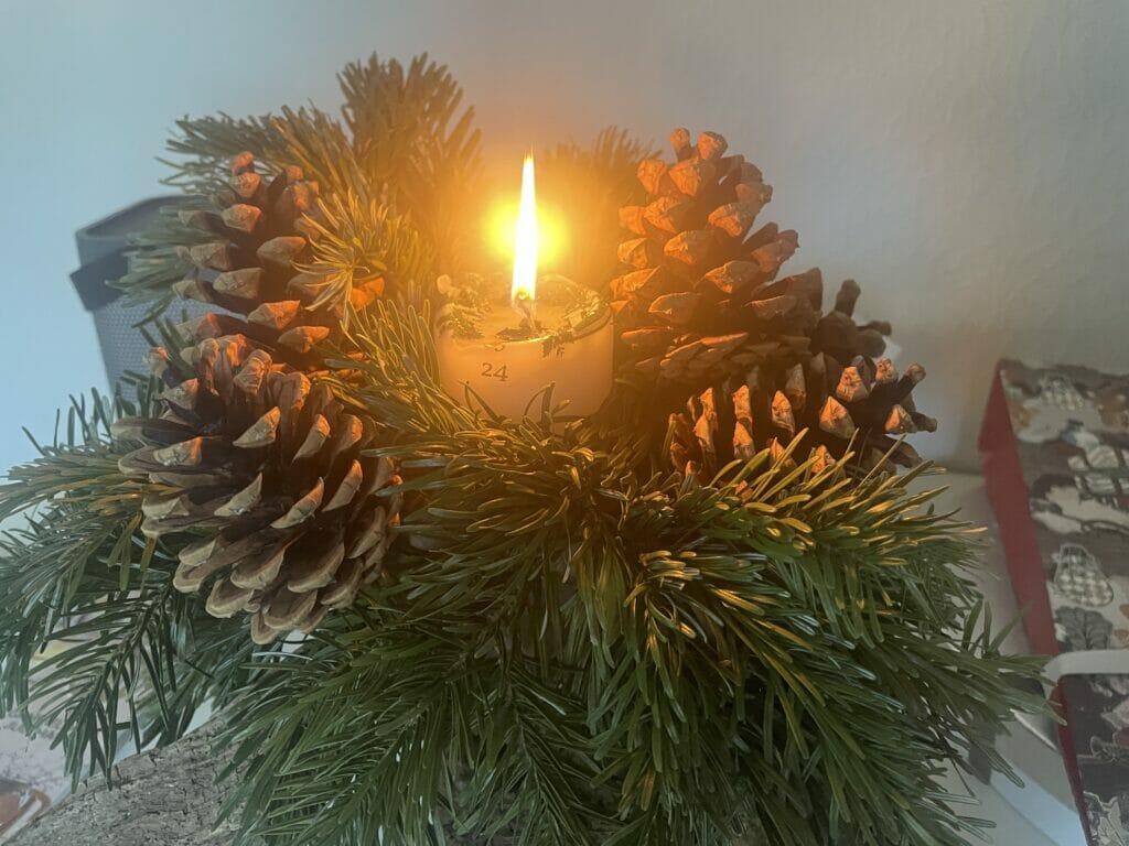 kalenderlys juledekoration