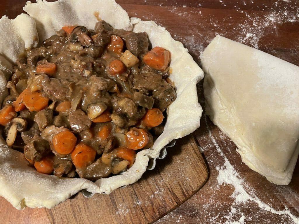 Kød tærte steak and ale pie