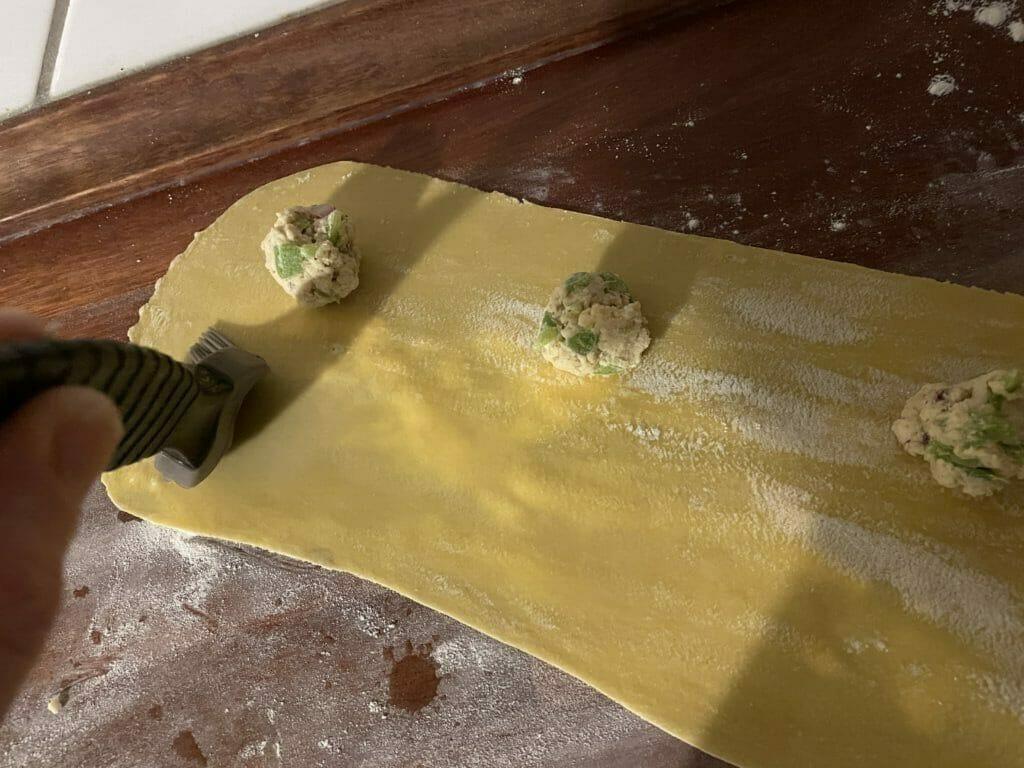 hjemmelavet ravioli pasta opskrift