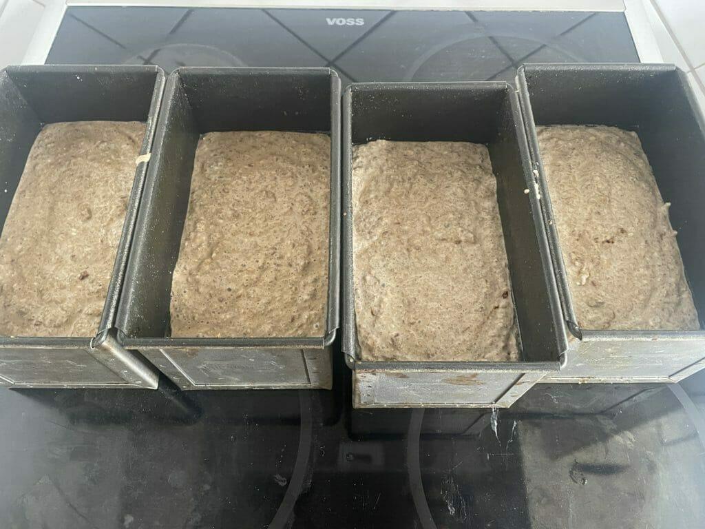 rudbrød hævning bagning