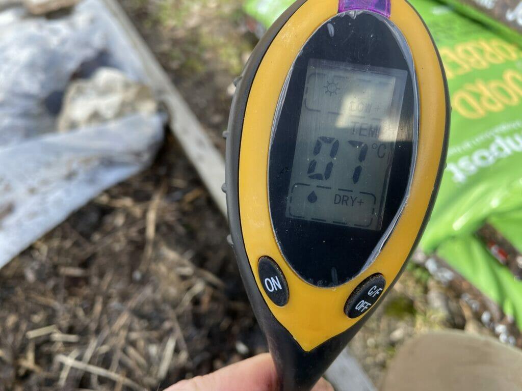 Jordtemperatur jordtermometer hvornår kan kartofler lægges