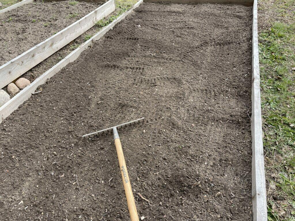 rive rivning jord dyrkning klargøring