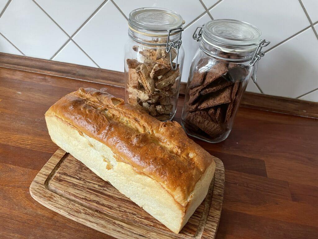 hjemmebag småkager franskbrød